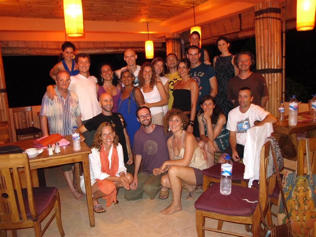 Grupo de mi primer taller en Bali (2013)