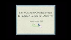 3 grandes obstaculos
