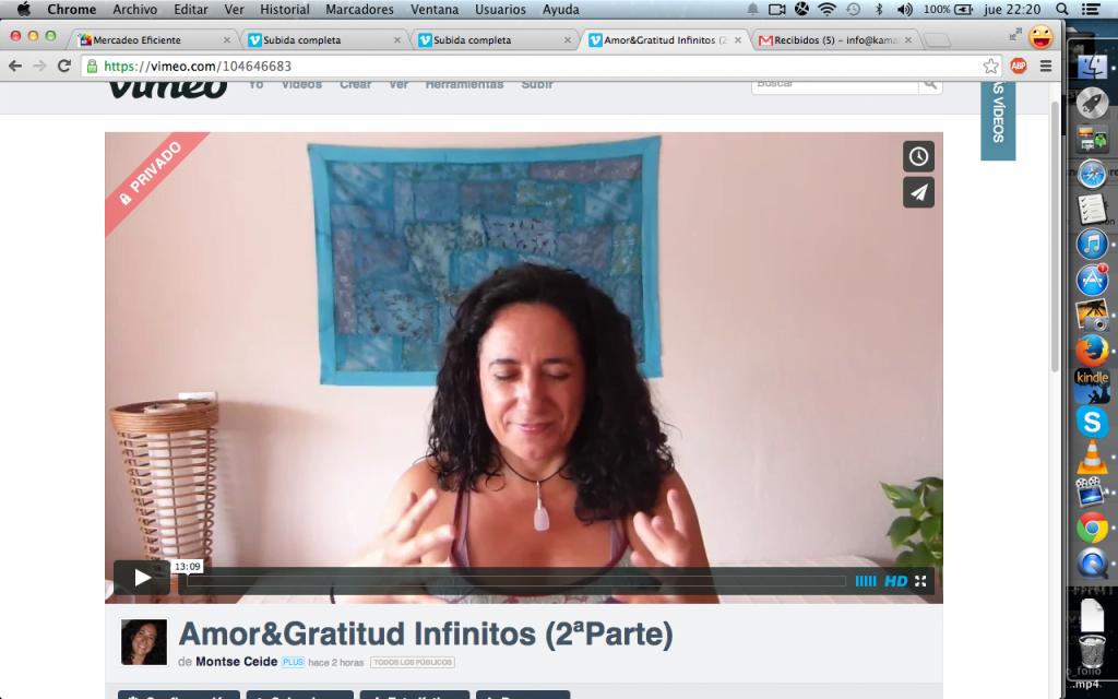 Amor y Gratitud Infinitas (2ª Parte)