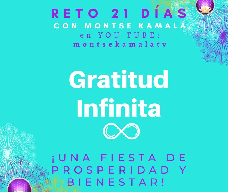 Reto 21 días de Gratitud Infinita